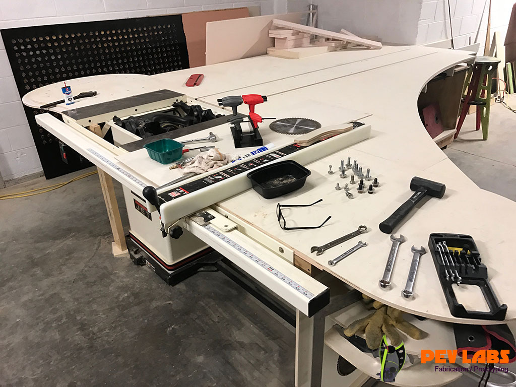 Tablesaw Repair with a Trunnion Replacement